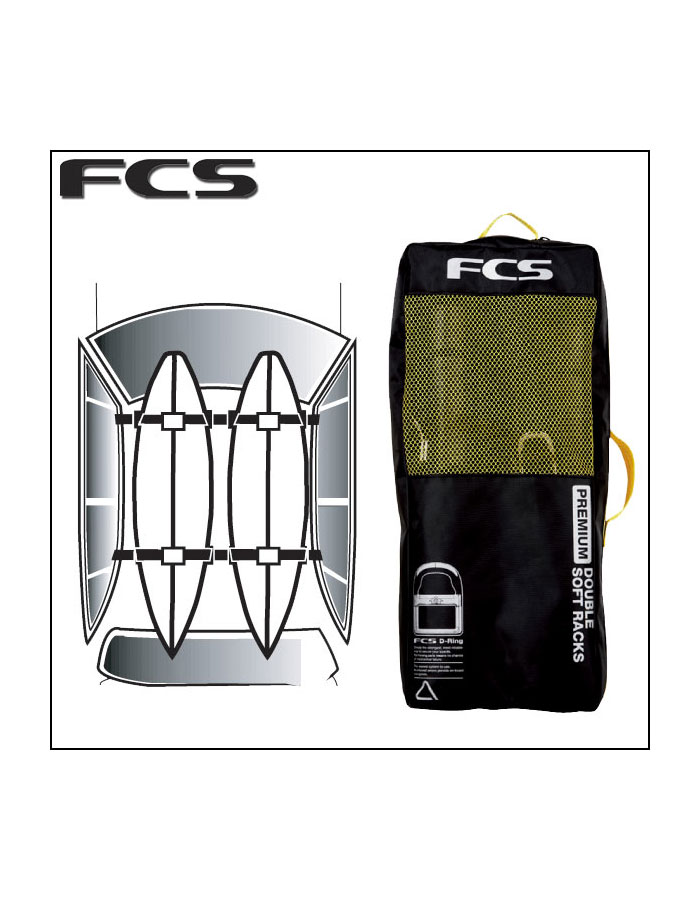 Fcs Premium Soft Racks Double Auto Accessories Buy Online