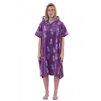 AFTER PONCHO PINEAPPLE PURPLE