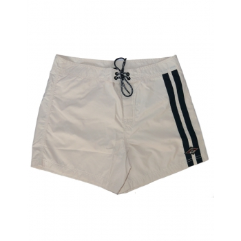 BEAR SURFBOARDS BOARDSHORTS WHITE