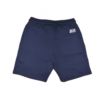 BEAR SURFBOARDS FLEECE SHORT TROUSER NAVY