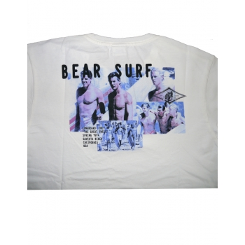 BEAR SURFBOARDS T-SHIRT OVERSIZE PHOTO BIG WEDNESDAY