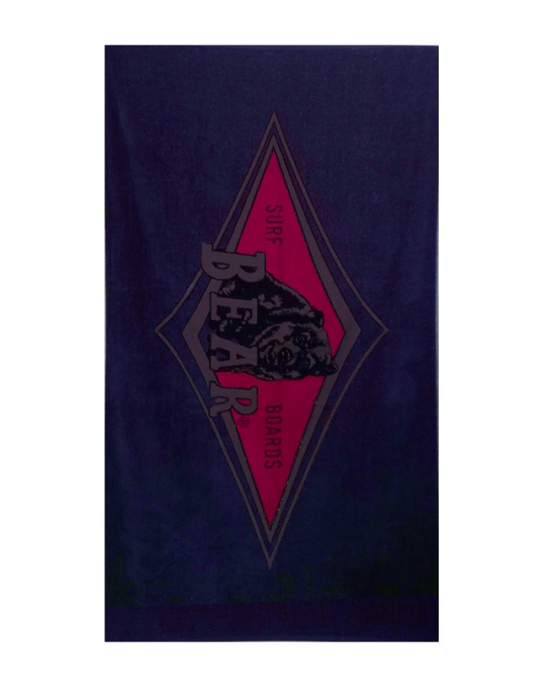 BEAR SURFBOARDS BEACH TOWEL