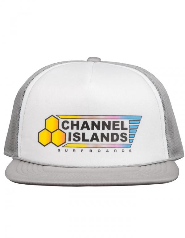 CHANNEL ISLAND FADE FLAG TRUCKER GREY
