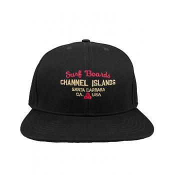 CHANNEL ISLAND SURF SHOP TWILL BLACK