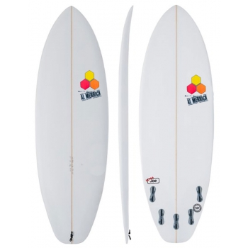 PUKAS SURF 69ER STEP DOWN SILVER SHORTBOARD