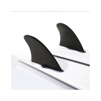 FCS II PINNE MODERN KEEL PC TWIN FIN WHITE