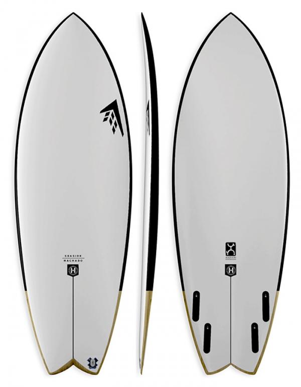 FIREWIRE SEASIDE HELIUM QUAD SWALLOW ROB MACHADO SURFBOARDS FUTURES