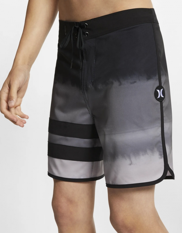 "HURLEY PHANTOMBLOCK PARTY FEVER BOARDSHORTS 18"" BLACK"