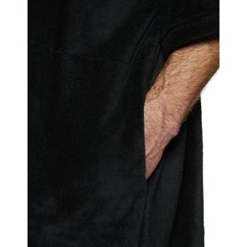 HURLEY PONCHO BLACK