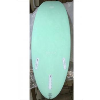 "INDIO SURFBOARDS ENDURANCE THE EGG 7'2"" AQUA MINT"