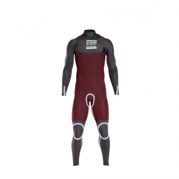 ION ONYX AMP SEMIDRY 4/3 DL WETSUIT FRONT ZIP 2018