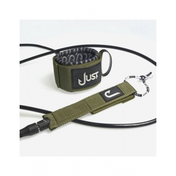 JUST LEASH REGULAR 9' ANKLE GREEN ARMY