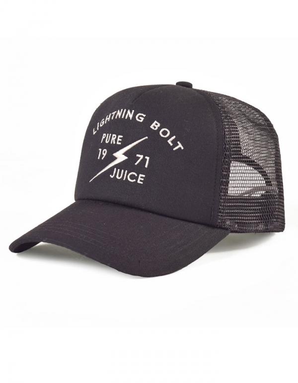 LIGHTNING BOLT A PURE JUICE TRUCKER CAP