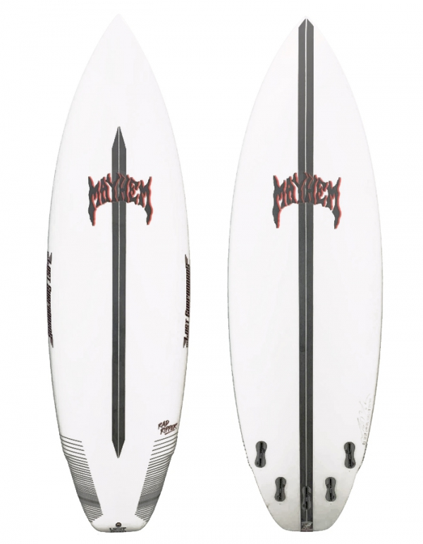 LOST SURFBOARDS RAD RIPPER LIGHT SPEED 5 FINS FCSII