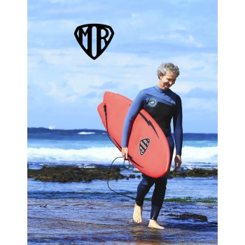 "MR EPOXY SOFT TWIN FIN 5'6"" RED"