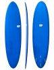 """NSP SURFBOARDS PROTECH FUNBOARD 7'6"""" NAVY TINT"""