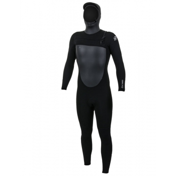 O'NEILL EPIC 6/5/4 CHEST ZIP W/HOOD WETSUITS BLACK 2019