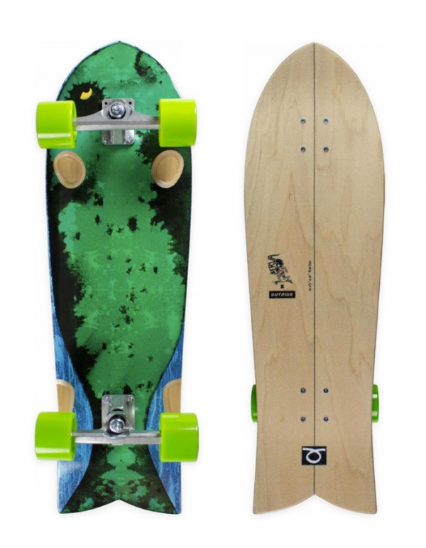 """OUTRIDE SURFSKATE FISH 33"""""""