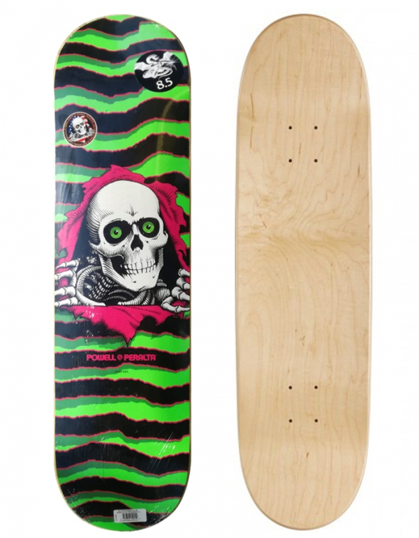 """PPOWELL PERALTA RIPPER GREEN 8.50"""" SKATE COMPLETE"""
