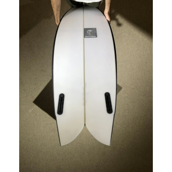 "PUKAS CHRIS CHRISTENSON PEGASO 5'10"" TWIN FIN BLACK"