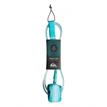 QUICKSILVER LEASH 6' TRESTLES 7 mm. BLUE