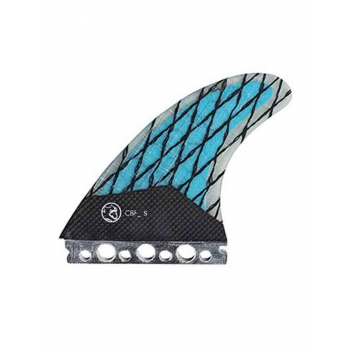 QUIKSILVER FINS AG47 C. BRADLEY THRUSTER SMALL (blue)