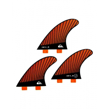 QUIKSILVER FINS CBF_X THRUSTER MEDIUM (Orange) FCS