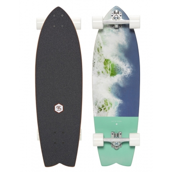 """QUIKSILVER SKATEBOARD ST ABACAXI 32"""""""