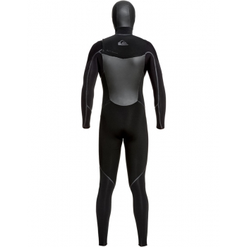 QUIKSILVER SYNCRO PLUS 5/4/3MM HOODED CHEST ZIP FULL WETSUIT