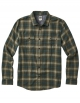 REEF COLD DIP 10 LS SHIRT FLANNEL OLIVE