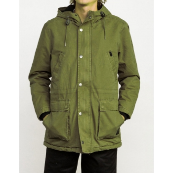 RVCA GROUND CONTROL II BURNT OLIVE
