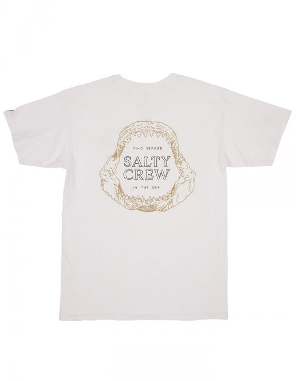 SALTY CREW BUZZSAW TEE WHITE