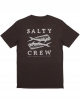 SALTY CREW DOUBLE UP NAVY HEATHER TEE