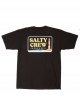 SALTY CREW POINT LOMA S/S TEE BLACK
