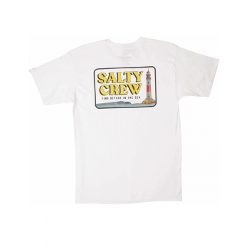 SALTY CREW POINT LOMA S/S TEE WHITE