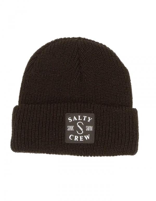 SALTY CREW S-HOOK BEANIE BLACK