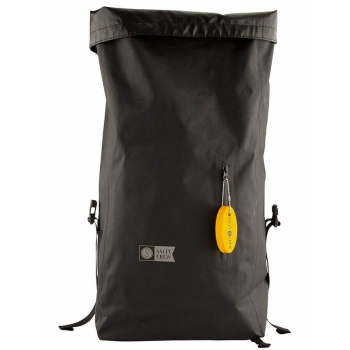 SALTY CREW COVERT BLACK ROLL TOP BAG