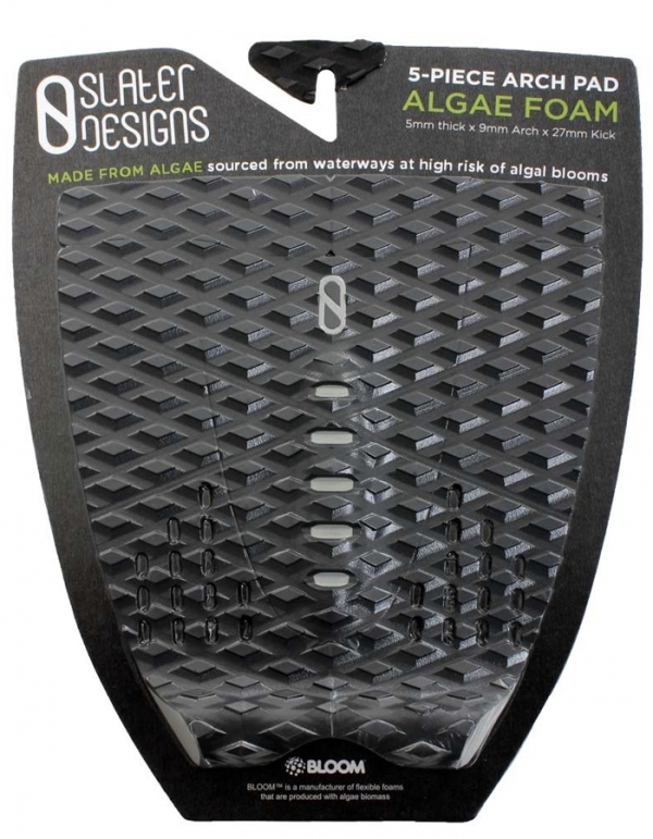 SLATER DESIGNS 5 PIECE TRACTION ARCH PAD BLACK