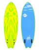 "SOFTECH MASON TWIN 5'2"" - 5'6"" LIME/YELLOW SOFTBOARD FCSII"