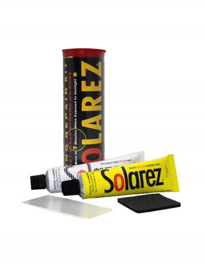 solarez epoxy ding repair instructions