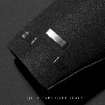 VISSLA 7 SEAS 4/3 FULL SUIT CHEST ZIP BLACK WITH JADE