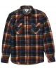 VISSLA ECO-ZY LS POLAR FLANNEL BLACK