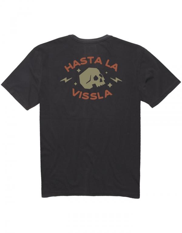 VISSLA T-SHIRT HASTA LA VISSLA POCKET TEE PHANTOM