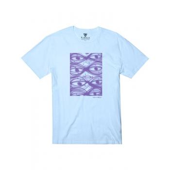 VISSLA T-SHIRT TIMUCKLUCK PACIFIC BLUE