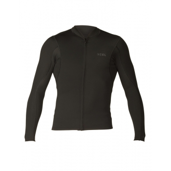 XCEL MEN'S 1/0.5MM L/S FRONT ZIP SP18