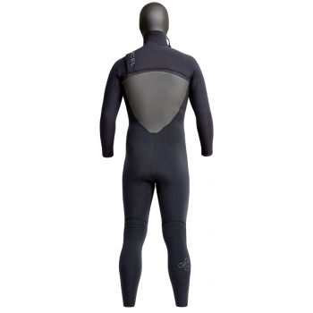 XCEL DRYLOCK 5/4 HOODED CELLIANT TDC WETSUIT BLACK
